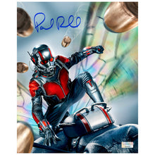 Load image into Gallery viewer, Paul Rudd Autographed Ant-Man 8×10 Action Photo