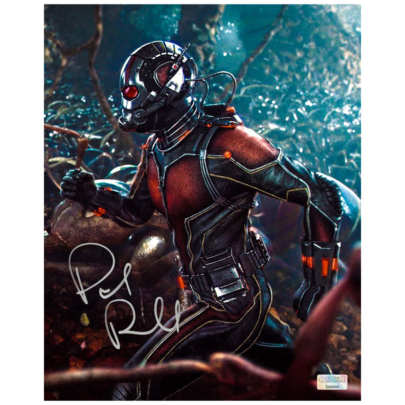 Paul Rudd Autographed Ant-Man The Colony 8x10 Photo