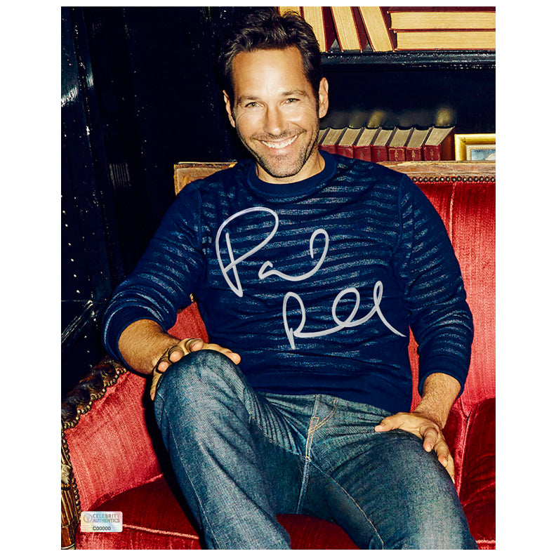 Paul Rudd Autographed 8×10 Portrait Photo