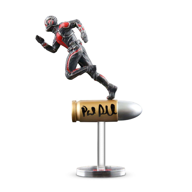 Paul Rudd Autographed King Arts Ant-Man Bullet 1:1 Scale Statue