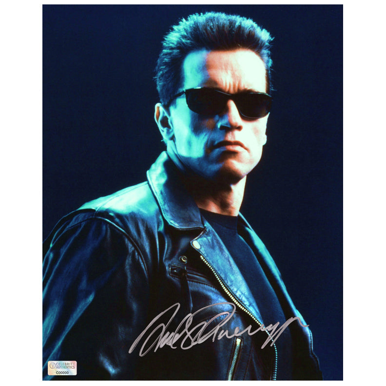 Arnold Schwarzenegger Autographed Terminator 2: Judgement Day 8x10 Photo