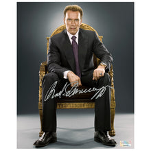 Load image into Gallery viewer, Arnold Schwarzenegger Autographed 8×10 Studio Photo