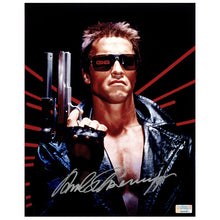 Load image into Gallery viewer, Arnold Schwarzenegger Autographed Terminator 8×10 Photo