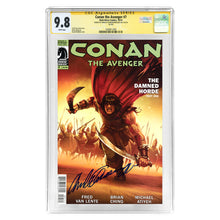 Load image into Gallery viewer, Arnold Schwarzenegger Autographed Conan the Avenger #7 CGC SS 9.8