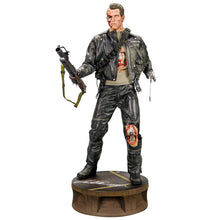 Load image into Gallery viewer, Arnold Schwarzenegger Autographed T2: Judgement Day T-800 Battle Damaged Terminator Statue
