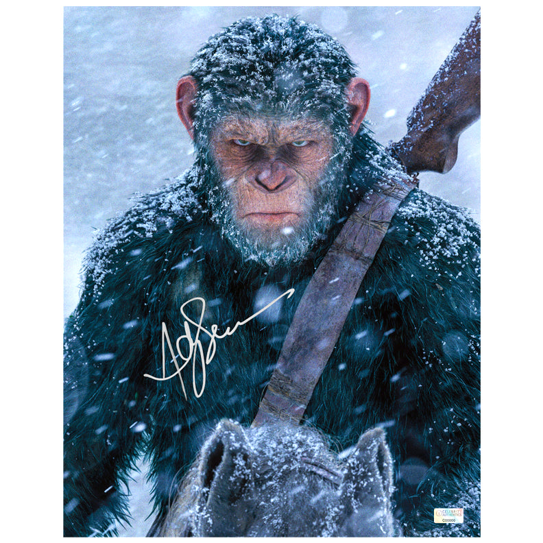 Andy Serkis Autographed War for the Planet of the Apes Caesar 11x14 Photo