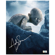 Load image into Gallery viewer, Andy Serkis Autographed Lord of the Rings Gollum 8x10 Photo