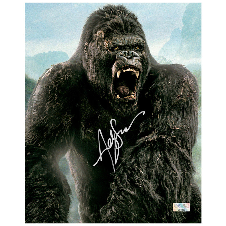 Andy Serkis Autographed Skull Island Kong 8x10 Photo