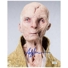 Load image into Gallery viewer, Andy Serkis Autographed Star Wars Supreme Leader Snoke 8x10 Portrait Photo