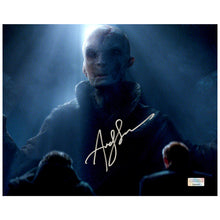 Load image into Gallery viewer, Andy Serkis Autographed Star Wars Supreme Leader Snoke Scene 8x10 Photo