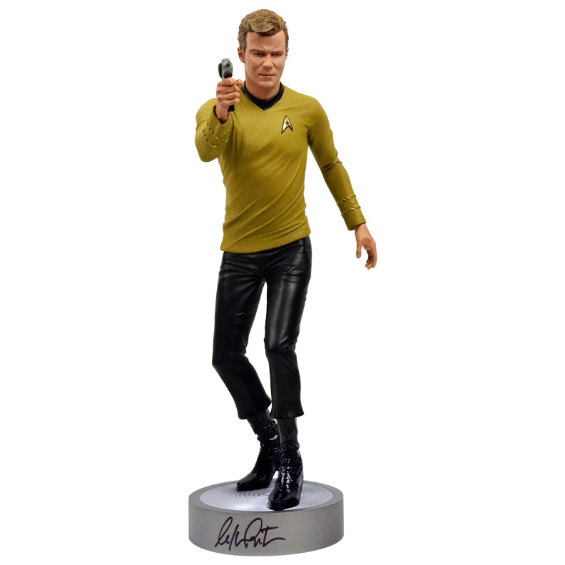 William Shatner Autographed Star Trek Captain Kirk 1:4 Scale Statue