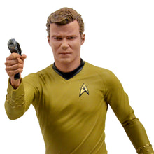 Load image into Gallery viewer, William Shatner Autographed Star Trek Captain Kirk 1:4 Scale Statue