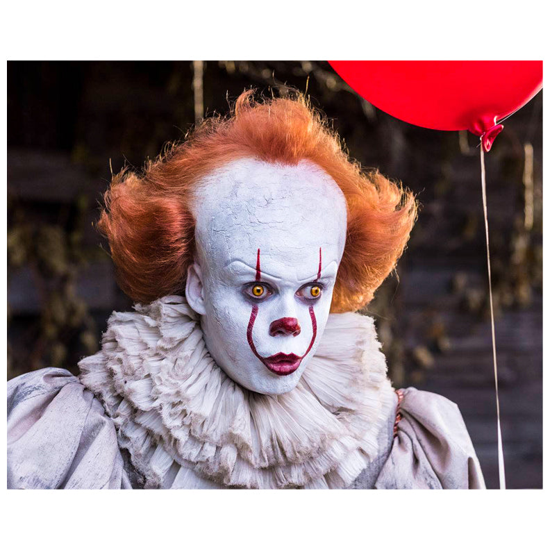 Bill Skarsgård Autographed IT Pennywise Scene 8x10 Photo PRE-ORDER
