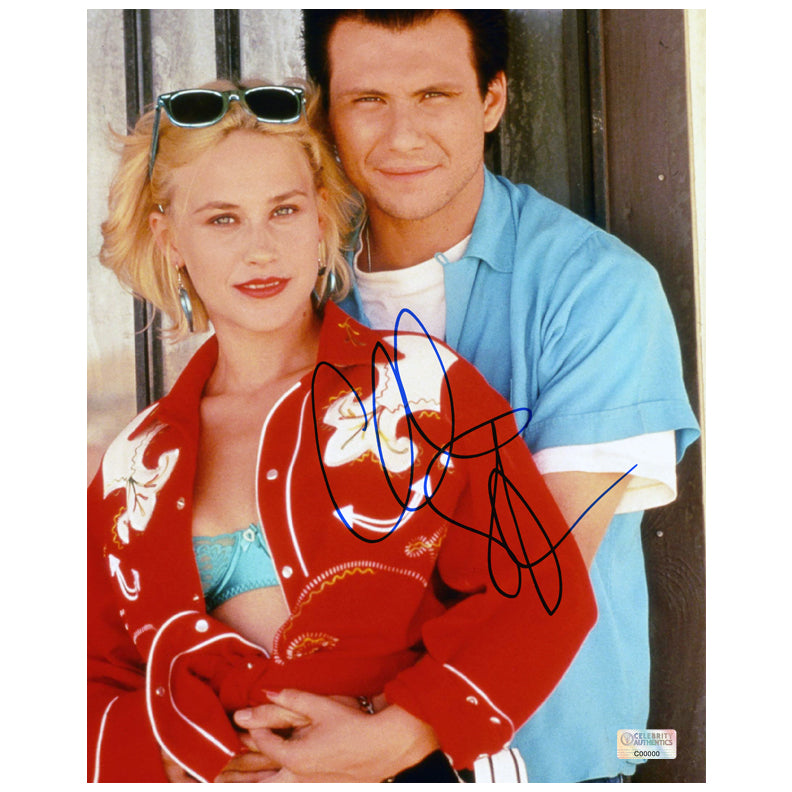 Christian Slater Autographed True Romance 8×10 Photo