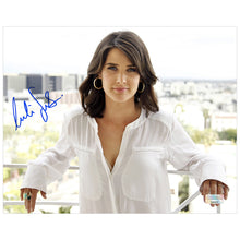 Load image into Gallery viewer, Cobie Smulders Autographed City View 8x10 Photo