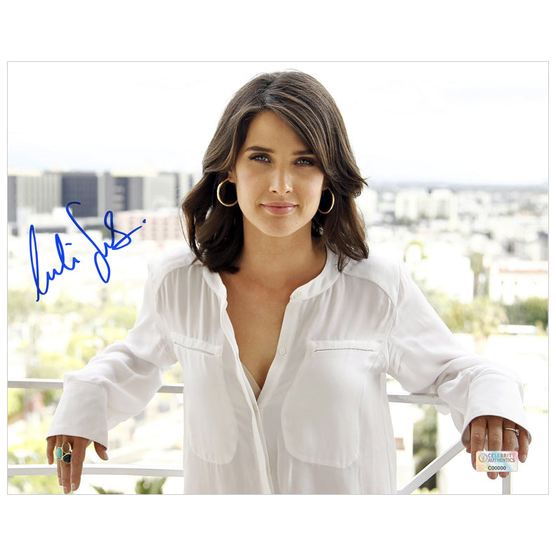 Cobie Smulders Autographed City View 8x10 Photo