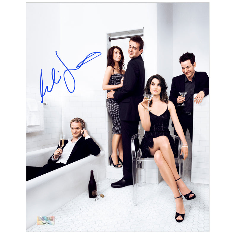 Cobie Smulders Autographed How I Met Your Mother Cast 8x10 Photo