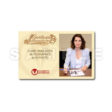 Load image into Gallery viewer, Cobie Smulders Autographed How I Met Your Mother Cast 8x10 Photo