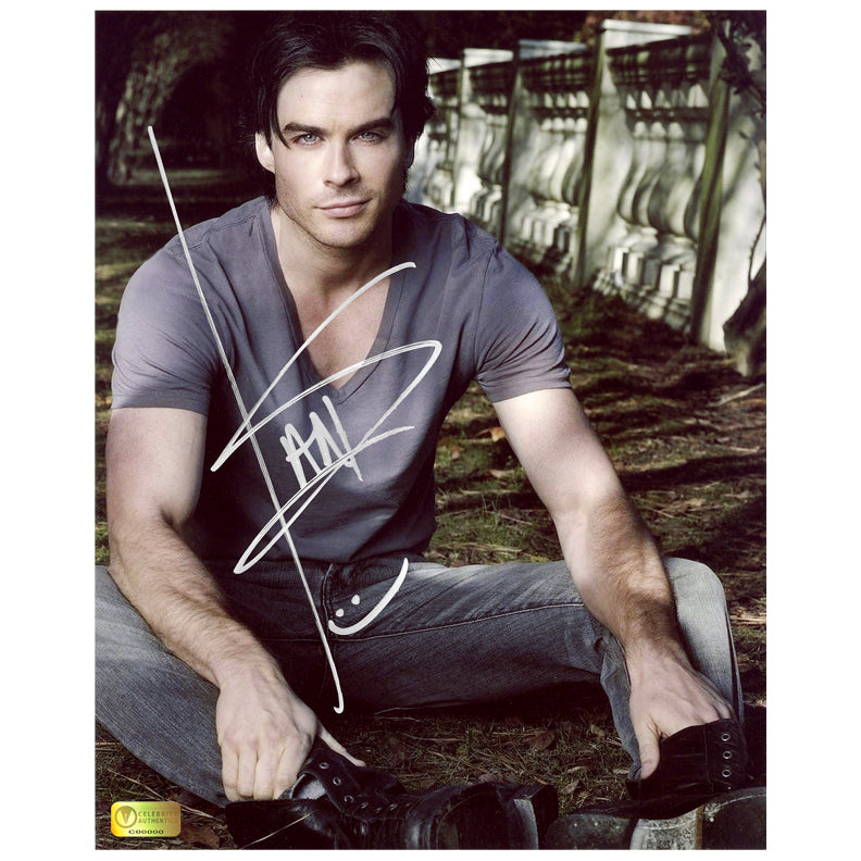 Ian Somerhalder Autographed 8x10 Portrait Photo