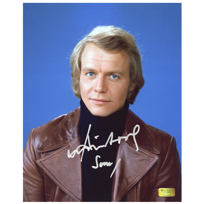 David Soul Autographed Starsky and Hutch 8x10 Hutch Photo