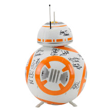 Load image into Gallery viewer, Harrison Ford, Mark Hamill, Adam Driver, Star Wars: The Force Awakens Cast Autographed 18″ BB-8 Droid