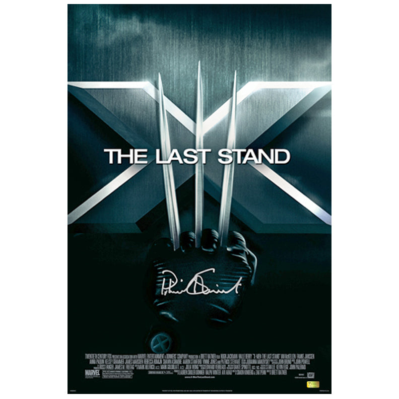 Patrick Stewart Autographed X-Men 3 The Last Stand 16x24 Poster