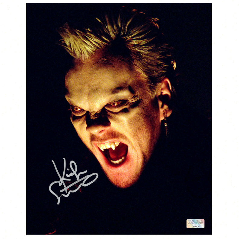 Kiefer Sutherland Autographed The Lost Boys David 8×10 Photo