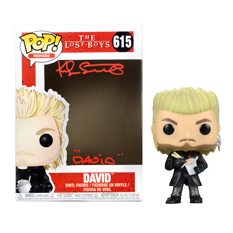 Kiefer Sutherland Autographed The Lost Boys David #615 POP! Vinyl Figure