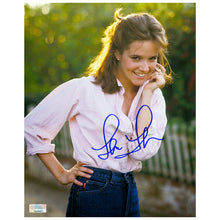 Load image into Gallery viewer, Lea Thompson Autographed Garden 8x10 Photo