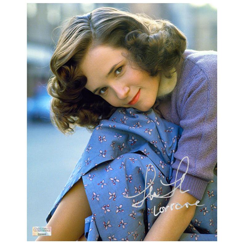 Lea Thompson Autographed Back to the Future Lorraine Baines Portrait 8x10 Photo