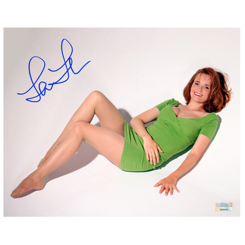 Lea Thompson Autographed 8x10 Studio Photo