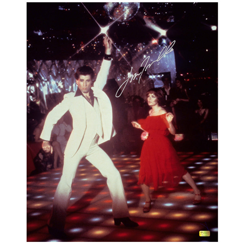 John Travolta Autographed Saturday Night Fever 16x20 Photo