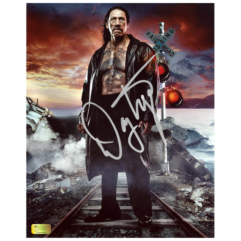 Danny Trejo Autographed Do Not Cross 8x10 Photo