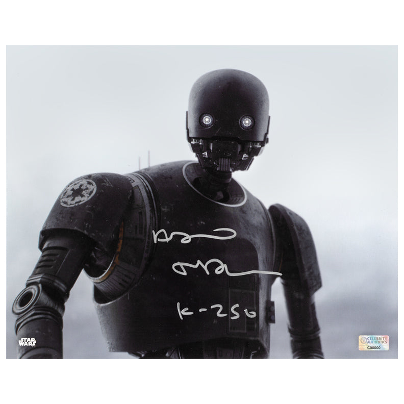 Alan Tudyk Autographed Star Wars: Rogue One K-2SO 8×10 Photo