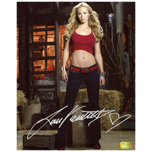 Load image into Gallery viewer, Laura Vandervoort Autographed Smallville 8x10 Portrait Photo