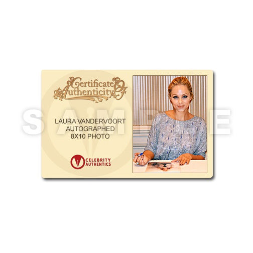 Laura Vandervoort Autographed 8×10 Studio Photo 1