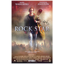 Load image into Gallery viewer, Mark Wahlberg Autographed Original Rock Star 27x40 Double Sided Movie Poster