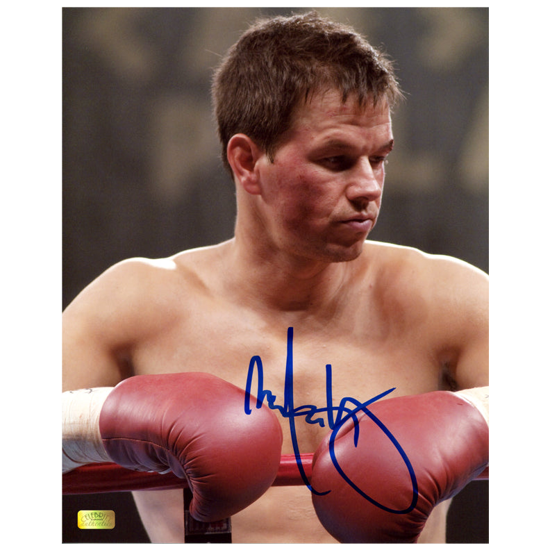 Mark Wahlberg Autographed The Fighter 8x10 Portrait Photo