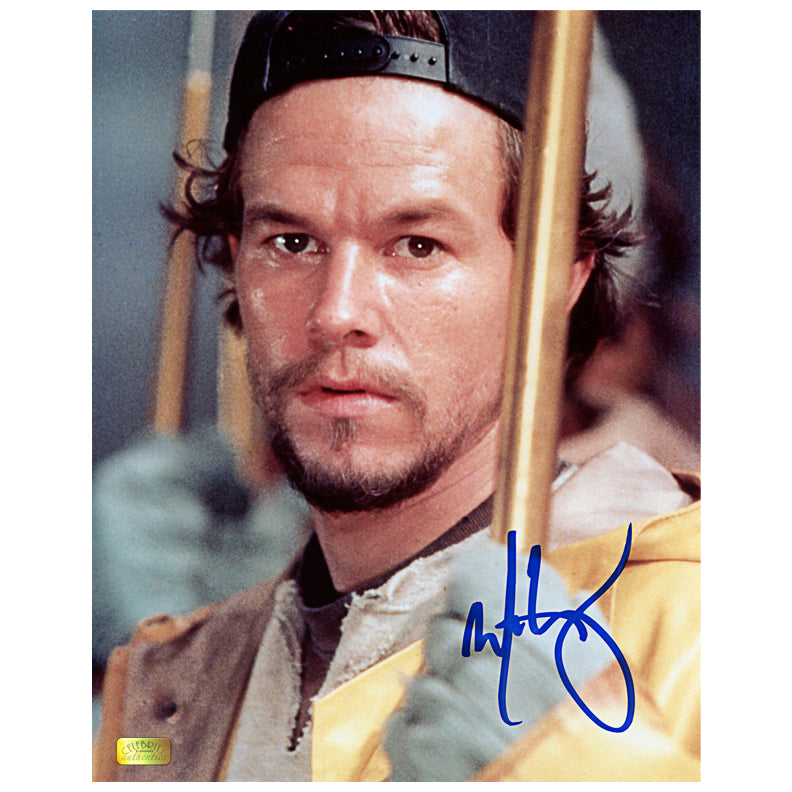 Mark Wahlberg Autographed Perfect Storm Bobby Shatford 8x10 Scene Photo