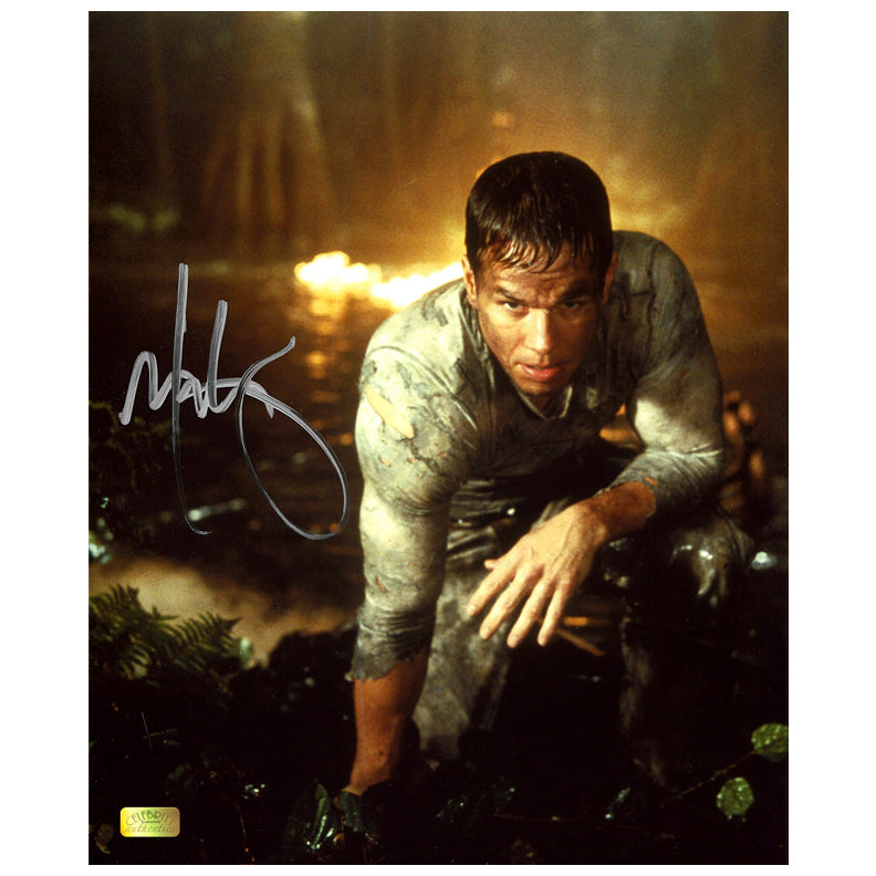 Mark Wahlberg Autographed Planet of the Apes Crash 8x10 Photo