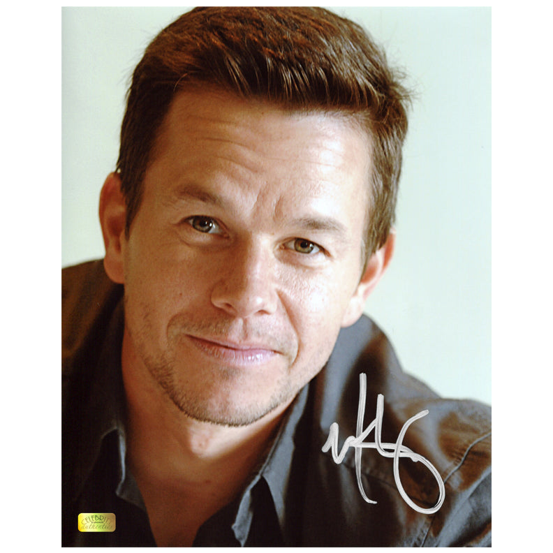 Mark Wahlberg Autographed 8×10 Portrait Photo
