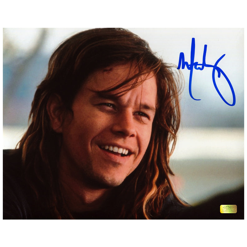 Mark Wahlberg Autographed Rock Star Izzy 8x10 Photo