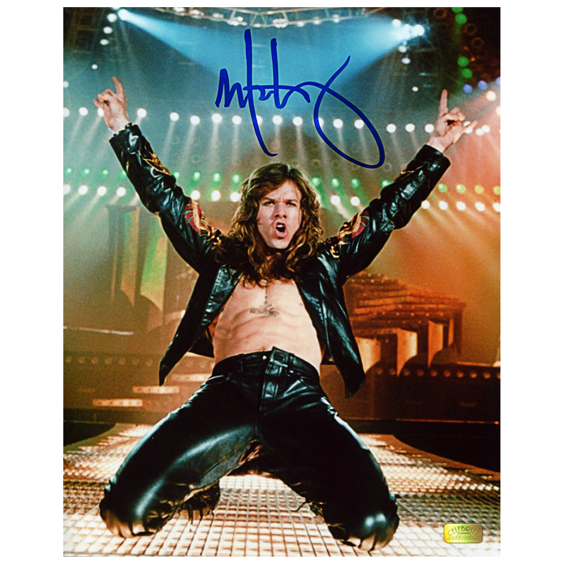 Mark Wahlberg Autographed Rock Star Slide 8x10 Photo