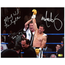 Load image into Gallery viewer, Mark Wahlberg, Micky Ward Autographed The Fighter 8x10 Scene Photo