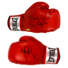 Load image into Gallery viewer, Mark Wahlberg and Micky Ward Autographed The Fighter Boxing Glove Set