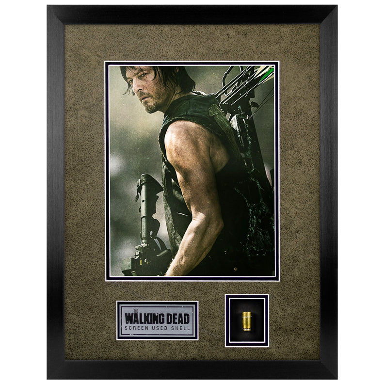 Norman Reedus The Walking Dead Screen Used Bullet Display with Letter of Authenticity