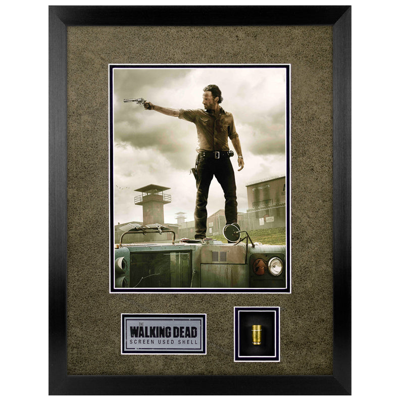 Andrew Lincoln The Walking Dead Screen Used Bullet Display with Letter of Authenticity