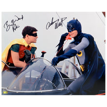 Load image into Gallery viewer, Adam West and Burt Ward Autographed Classic Batman 1966 Batman and Robin 16x20 Photo