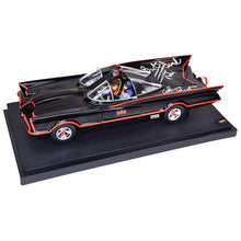 Load image into Gallery viewer, Adam West and Burt Ward Autographed Die-Cast 1:18 Scale Batman 1966 Batmobile