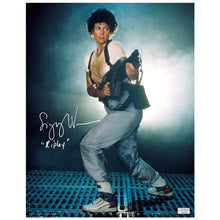 Load image into Gallery viewer, Sigourney Weaver Autographed Aliens Ripley 11x14 Photo
